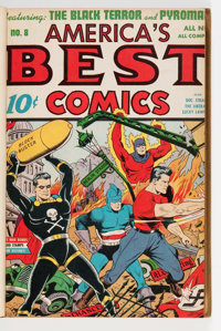 America's Best Comics #8-15 Bound Volume (Nedor Publications, 1944)