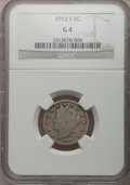 Liberty Nickels: , 1912-S 5C Good 4 NGC. NGC Census: (21/886). PCGS Population(14/1605). Mintage: 238,000. Numismedia Wsl. Price for problem ...