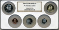 Proof Sets, 2006-S SET Clad Proof Set PR70 Ultra Cameo NGC. This set includes a 2006-S Lincoln Cent, 2006... (Total: 5 coins)