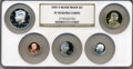 Proof Sets, 2007-S SET Silver Proof Set PR70 Ultra Cameo NGC. This set includes a 2007-S Lincoln Cent, 20... (Total: 5 coins)
