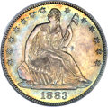 Seated Half Dollars, 1883 50C MS66 PCGS....