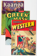 Golden Age (1938-1955):Miscellaneous, Comic Books - Assorted Golden Age Comics Group (Various, 1940s).... (Total: 4 Comic Books)