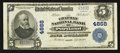 National Bank Notes:Maine, Portland, ME - $5 1902 Plain Back Fr. 604 The Chapman NB Ch. #4868. ...