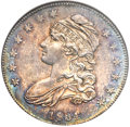 Bust Half Dollars, 1834 50C Small Date, Small Letters MS64 NGC. O-120, R.4....