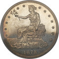 Proof Trade Dollars, 1878 T$1 PR64 Cameo PCGS....