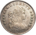 Early Dollars, 1799/8 $1 13 Stars Reverse AU53 PCGS. CAC. B-1, BB-142, R.3. ...