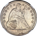 Seated Dollars, 1870-CC $1 -- Improperly Cleaned -- NGC Details. XF....