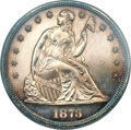 Proof Seated Dollars, 1873 $1 PR62 PCGS....