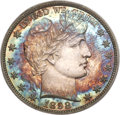 Proof Barber Half Dollars, 1898 50C PR65 Cameo PCGS....