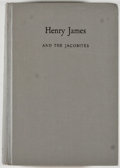 Books:Biography & Memoir, Henry James [subject]. Group of Four Books Relating to Henry James, including: Bliss Perry. Commemorative Tribute to... (Total: 4 Items)