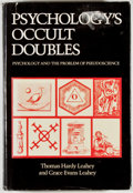Books:Science & Technology, Thomas Hardy Leahey and Grace Evans Leahey. Psychology's Occult Doubles: Psychology and the Problem of Pseudoscience. ...