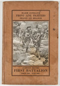 Books:Americana & American History, L. S. Conelly. INSCRIBED. Major Conelly's Front Line Fighters,France and Belgium. Glorious Record, First Battalion 148t...