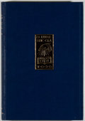 Books:Reference & Bibliography, Evan R. Gill. Bibliography of Eric Gill. Totowa: Rowman andLittlefield, 1973. Later edition. Octavo. 223 pages. Pub...