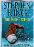 Books:Horror & Supernatural, Stephen King [subject]. Rocky Wood and Justin Brooks.SIGNED/LIMITED. Stephen King: The Non-Fiction. Baltimore: CemeteryDan...