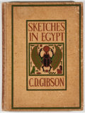 Books:World History, Charles Dana Gibson. Sketches in Egypt. New York: Doubleday & McClure, 1899. First edition, first printing. Quarto. ...