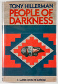 Books:Mystery & Detective Fiction, Tony Hillerman. INSCRIBED. People of Darkness. New York:Harper & Row, [1980]. First edition, first printing. Sign...