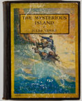 Books:Science Fiction & Fantasy, N. C. Wyeth [illustrator]. Jules Verne. The Mysterious Island. New York: Scribners, 1930. Later impression. Octavo. ...