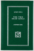 Books:Horror & Supernatural, Stephen King. The Green Mile. [Burton]: Subterranean Press, 2006. 10th Anniversary edition, limited to 2000 co...