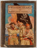 Books:Color-Plate Books, N. C. Wyeth [illustrator]. Robert Louis Stevenson. Treasure Island. New York: Scribners, 1911. Octavo. 273 pages. Pu...