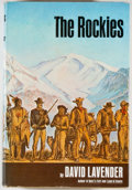Books:Americana & American History, David Lavender. The Rockies. New York: Harper & Row,[1968]. First edition, first printing. Octavo. 404 pages. Publi...