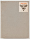 Books:Biography & Memoir, Percy Bysshe Shelley [subject]. Francis Thompson. Shelley. Portland: Mosher, 1912. Second edition, limited to 900 ...