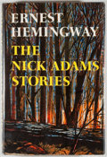 Books:Fiction, Ernest Hemingway. The Nick Adams Stories. New York:Scribners, [1972]. First edition, first printing. Octavo. 268 pa...