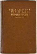 Books:Americana & American History, [Pupils of St. Mary's]. Noble Lives of a Noble Race.[Minneapolis: Brooks Press, 1909]. First edition. Octavo. 283 ...