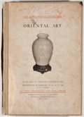 Books:Art & Architecture, American Art Association. The Kano Oshima Collection of Oriental Art. New York: American Art Galleries, 1924. First ...