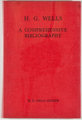 Books:Books about Books, [Jerry Weist]. H. G. Wells: A Comprehensive Bibliography.London: H. G. Wells Society, [1968]. Second edition. Octav...