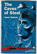 Books:Science Fiction & Fantasy, [Jerry Weist]. Isaac Asimov. The Caves of Steel. Garden City: Doubleday, [1954]. Book club edition. Octavo. 224 page...