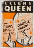 Books:Mystery & Detective Fiction, Ellery Queen. The Chinese Orange Mystery. New York:Frederick A. Stokes, 1934. First edition, first printing. Octavo...