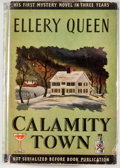 Books:Mystery & Detective Fiction, Ellery Queen. Calamity Town. Boston: Little, Brown, 1942.First edition, first printing. Octavo. 318 pages. Publishe...