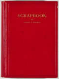 Books:Biography & Memoir, Sidney J. Thomas. Scrapbook. [n. p.: n. d.]. Octavo. 244pages. Publisher's binding with minor rubbing and abrading ...