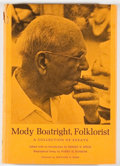Books:Biography & Memoir, Ernest B. Speck [editor]. Mody Boatright, Folklorist.Austin: University of Texas Press, [1973]. First edition, firs...