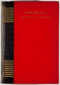 Books:Medicine, Anna Robeson Burr. Weir Mitchell: His Life and Letters. NewYork: Duffield, 1929. First edition. Octavo. 424 pages. ...