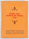 Books:Americana & American History, William B. Napton. Over the Santa Fe Trail 1857. Santa Fe:Stagecoach Press, 1964. Later edition, limited to 6...