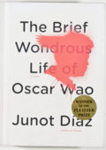 Books:Signed Editions, Junot Diaz. SIGNED. The Brief Wondrous Life of Oscar Wao. New York: Riverhead Books, 2007. Later printing. Signed ...
