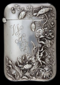 Silver Smalls:Match Safes, A BATTIN SILVER AND SILVER GILT MATCH SAFE . Battin & Co.,Newark, New Jersey, circa 1900. Marks: (trident), STERLING,232...