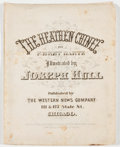 Books:Americana & American History, F. Bret Harte. The Heathen Chinee. Chicago: Western NewsCompany, 1870. First edition. 9 loose plates within an enve...
