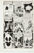 Original Comic Art:Panel Pages, Dave Gibbons Watchmen #5 Rorschach Dons His Mask Page 18Original Art (DC, 1987)....