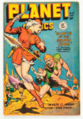 Golden Age (1938-1955):Science Fiction, Planet Comics #55 (Fiction House, 1948) Condition: FN....