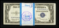 Small Size:Silver Certificates, Fr. 1618 $1 1935H Silver Certificates. Complete Pack of 100. Very Choice Crisp Uncirculated.. ... (Total: 100 notes)