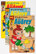 Silver Age (1956-1969):Humor, Playful Little Audrey File Copy Group (Harvey, 1958-68) Condition: Average VF/NM.... (Total: 61 Comic Books)