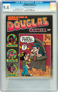 Douglas Comix #nn (Douglas Records, 1972) CGC NM 9.4 Off-white to white pages
