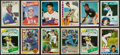 Baseball Cards:Lots, 1980's Multi-Brand Baseball Rookie Card Collection (110) With Henderson, Sandberg, Griffey and More....