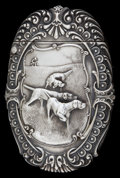 Silver Smalls:Match Safes, AN AMERICAN SILVER MATCH SAFE. Circa 1897. Marks: STERLING.2-1/2 inches high (6.4 cm). 1.10 troy ounces. ...