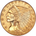 Indian Quarter Eagles, 1914 $2 1/2 MS65 NGC....