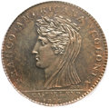 Colonials, 1796 MEDAL Castorland Medal, Copper MS65 Brown PCGS. Breen-1063,W-9140, R.6....