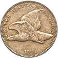 Proof Flying Eagle Cents, 1856 1C Genuine PCGS. Proof. Snow-1....