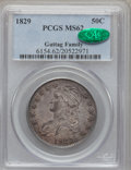Bust Half Dollars, 1829 50C Small Letters MS62 PCGS. CAC. O-112, R.1....